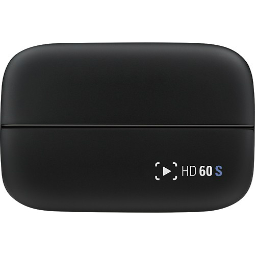 Elgato Game Capture HD60 1080p Gameplay Sharing for PlayStation 4/Xbox One/Xbox 360/Wii U gameplay - Black