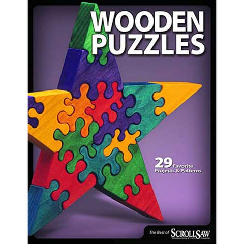Fox Chapel Publishings The Best of Scroll Saw Woodworking & Crafts Magazine: Wooden Puzzles